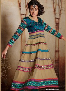 Anarkali-Frock-For-Girls-2013