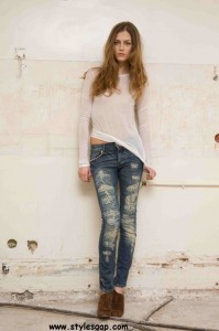Latest Ladies Jeans Collection  (17)