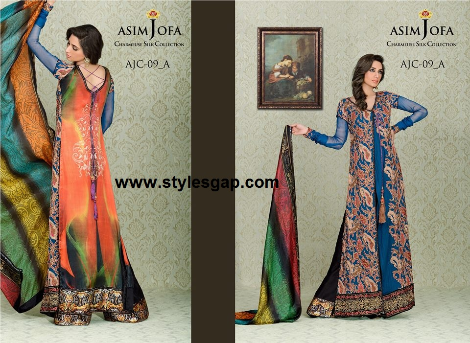 Latest Asim jofa Charmeuse Silk Collecton-Stylesgap (177)