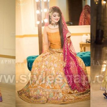 Latest Bridal Mehndi Dresses Wedding Collection 2020 Trends