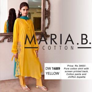 Latest Maria B Cotton Wear Collection-Stylesgap (1)