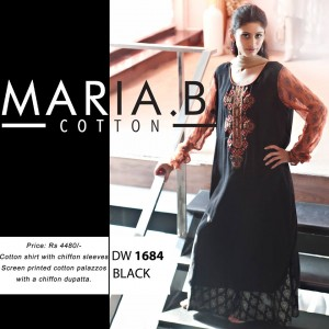 Latest Maria B Cotton Wear Collection-Stylesgap (7)
