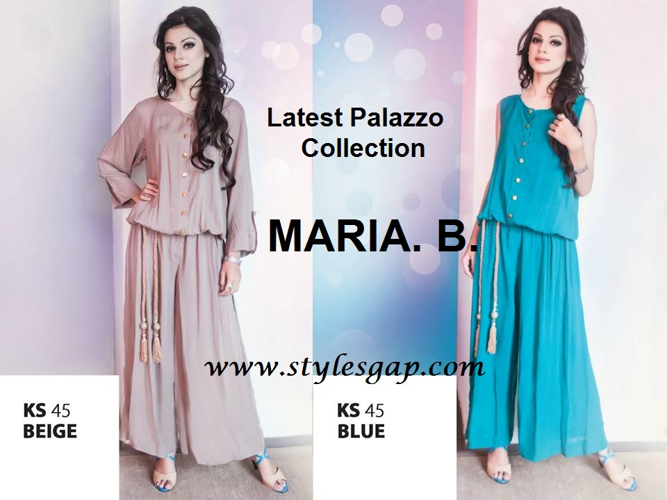 Latest Palazzo Collection by Maria B- Stylesgap (10)