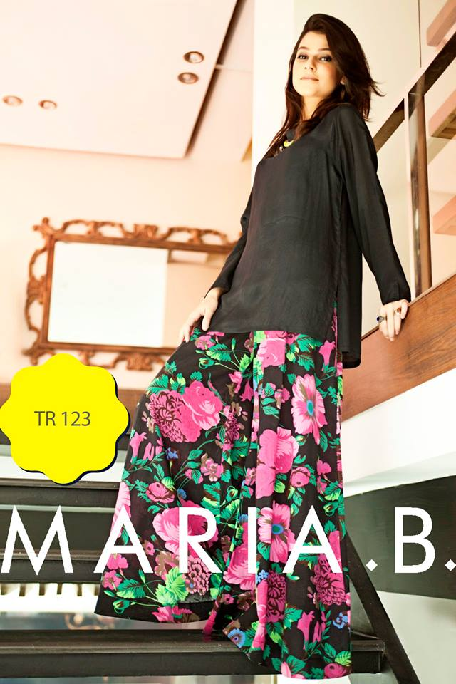 Latest Palazzo Collection by Maria B- Stylesgap (5)