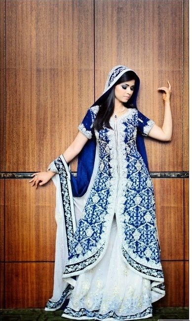 Latest Designs Of Bridal Frocks And Lehnga For Girls