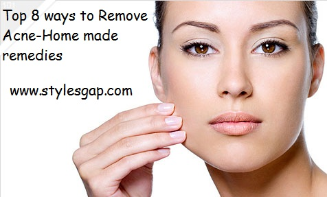 top 8 ways to remove acne-Stylesgap.com