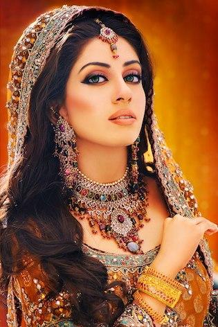 best  impressive bridal mekeup  photographykhawar riaz