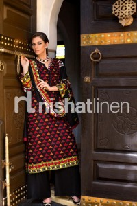 Latest Nishat linen Winter Collection- Stylesgap (12)