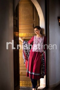 Latest Nishat linen Winter Collection- Stylesgap (6)