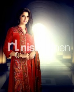 Latest Nishat linen Winter Collection- Stylesgap (9)