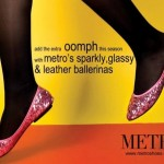Leather Winter Ballerinas By Metro | Latest Winter Shoes By Metro