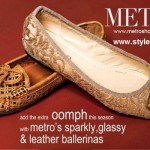 Leather Ballerinas By Metro | Latest Winter Shoes By Metro