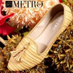 Leather Pumps By Metro | Latest Winter Shoes By Metro
