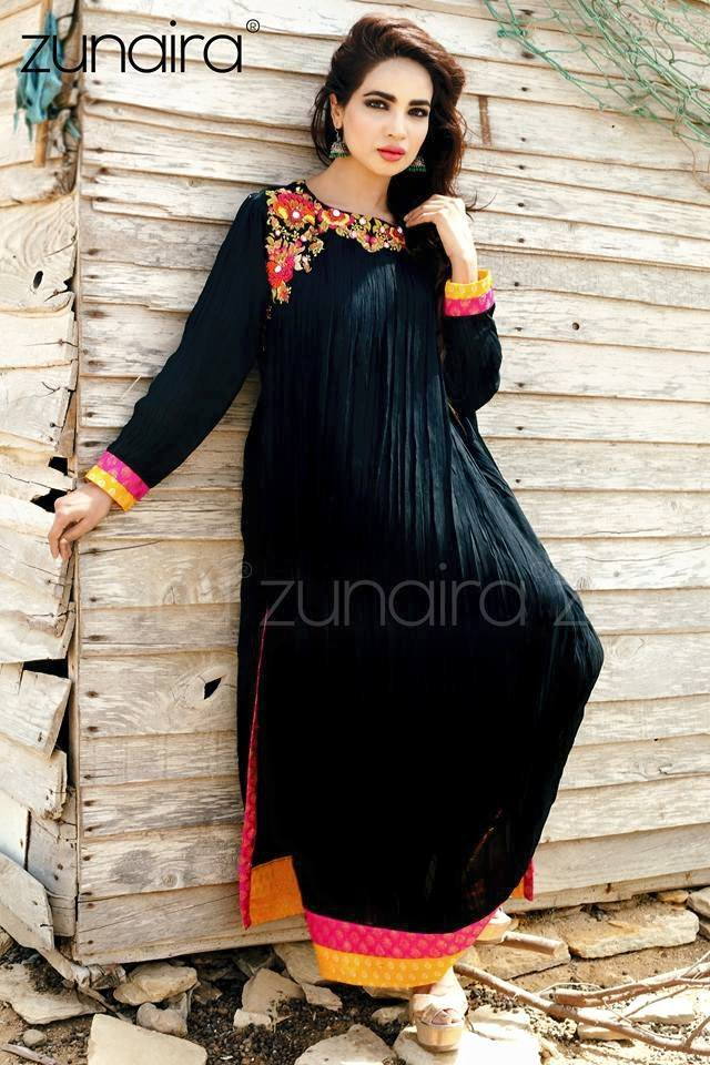 Pakistani Party Wear Fancy Dresses 2018 2019 Designs