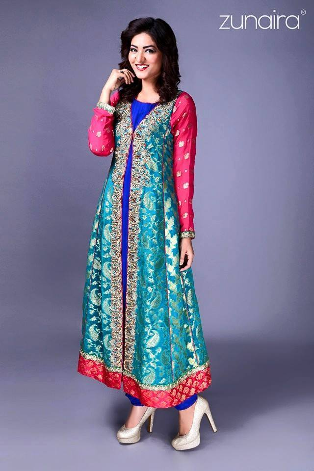 Pakistani Party Wear Fancy Dresses 2018 2019 Designs