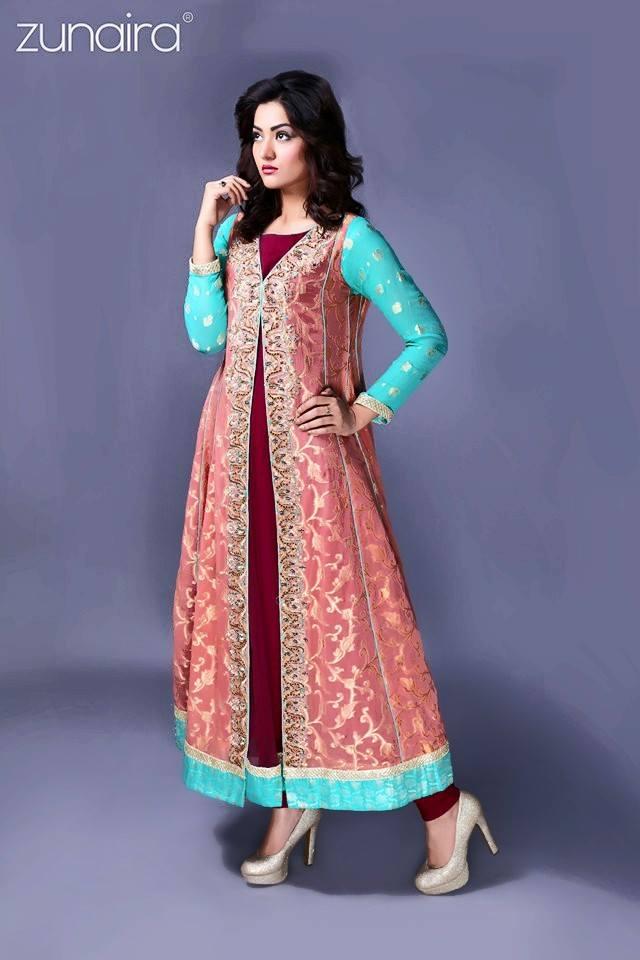 Pakistani Party Wear Fancy Dresses 2018-2019 Designs Collection