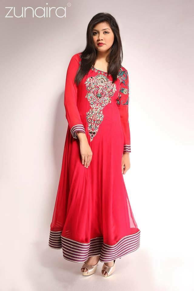 Pakistani Party Wear Fancy Dresses 2017-2018 Designs Collection