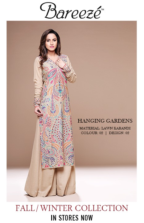 6e725800985d Latest Winter Fall Collection For Women By Bareeze