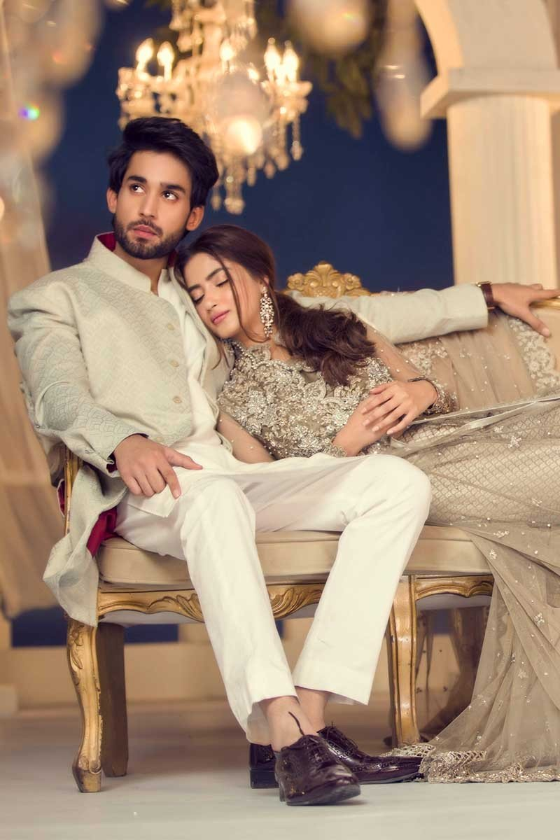 3123b2496ea8 ... Latest Fancy Formal Wedding Dresses are now available to order. So be  the first to wear the awesome dress by Pakistan s no one designer among  your ...