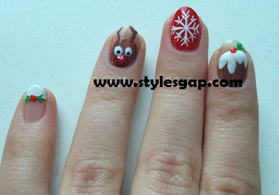 Top Christmas Nail tutorails to spice up your eve