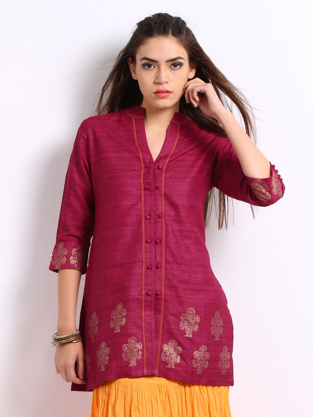 Anouk-Rustic-Women-Tunics_ Ladies Tops and Shirts By Best Brands