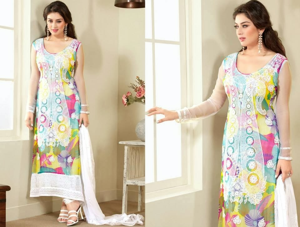 Asian and Indian Salwar Kameez Designs for Women  (1)