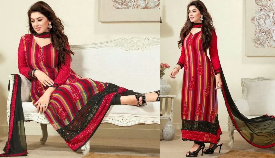 Asian and Indian Salwar Kameez Designs for Women  (3)