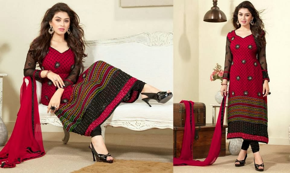 Asian and Indian Salwar Kameez Designs for Women (5)