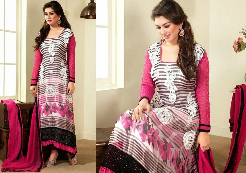 Asian and Indian Salwar Kameez Designs for Women  (7)