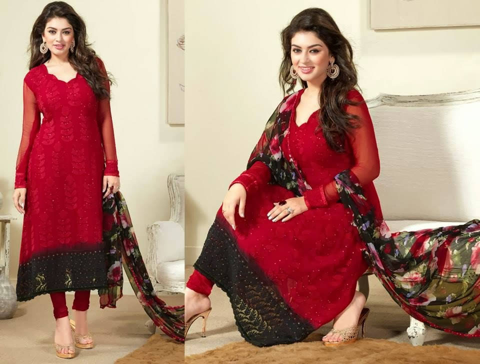 Asian and Indian Salwar Kameez Designs for Women  (9)