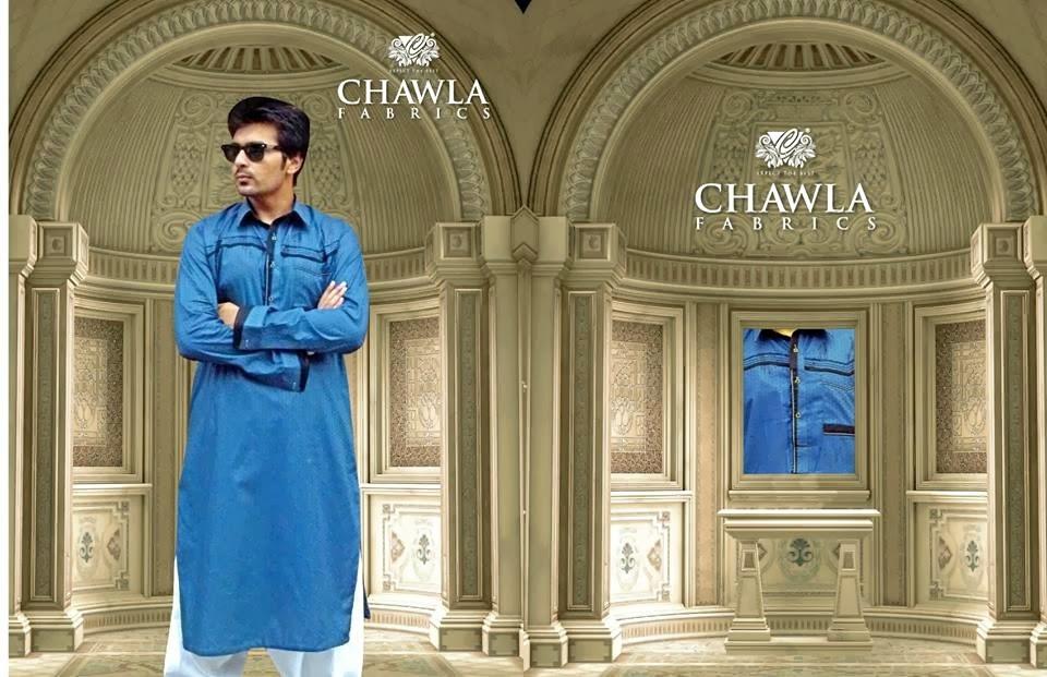 Chawla Fabrics Latest Kurta Designs For Men (10)