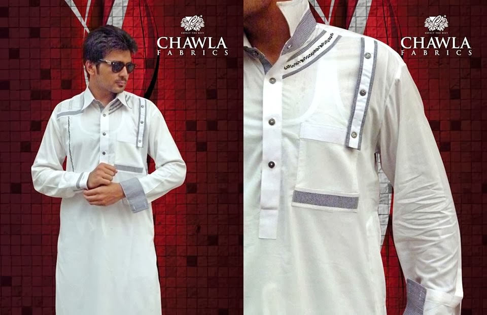 Chawla Fabrics Latest Kurta Designs For Men (2)