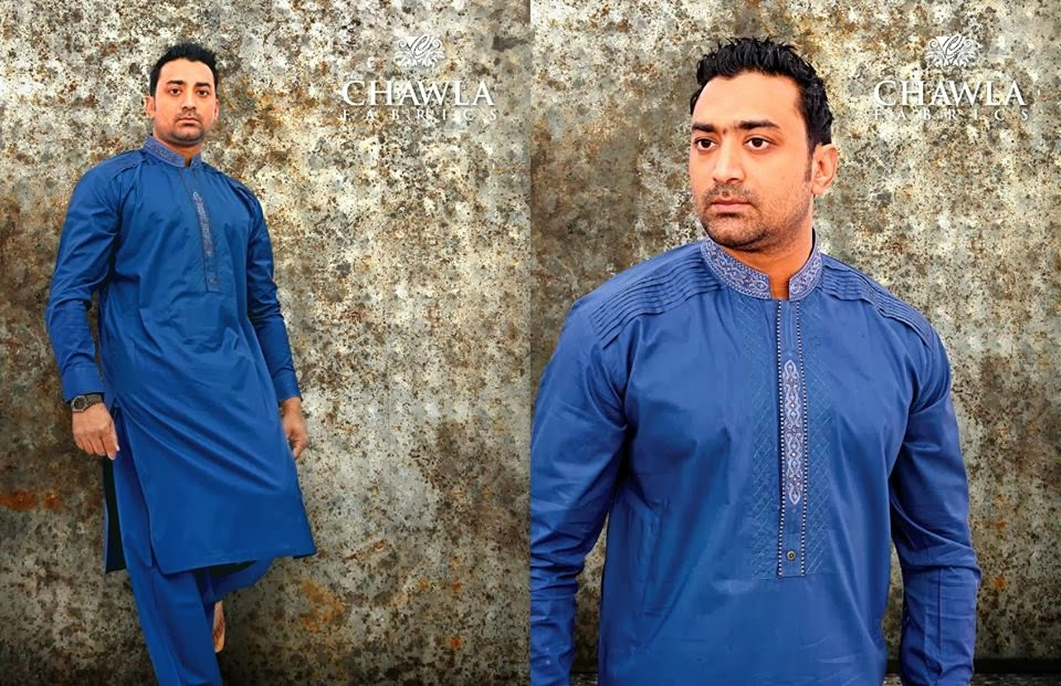 Chawla Fabrics Latest Kurta Designs For Men (3)