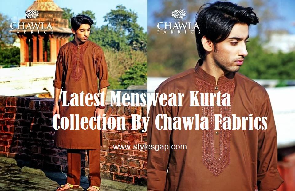 Chawla Fabrics Latest Kurta Designs For Men (5)