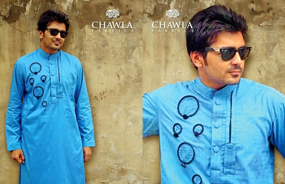 Chawla Fabrics Latest Kurta Designs For Men (7)