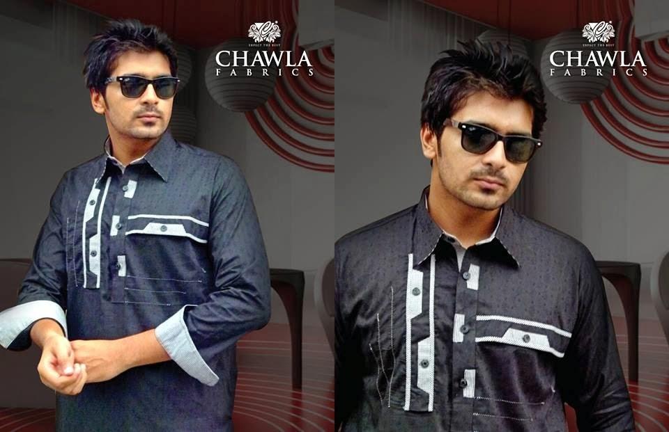Chawla Fabrics Latest Kurta Designs For Men (8)