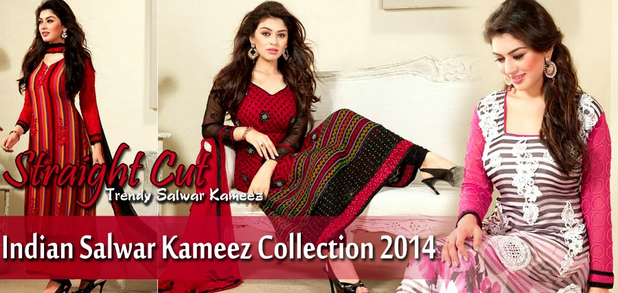 Indian Salwar Kameez Dresses Collection For Women 2014-2015