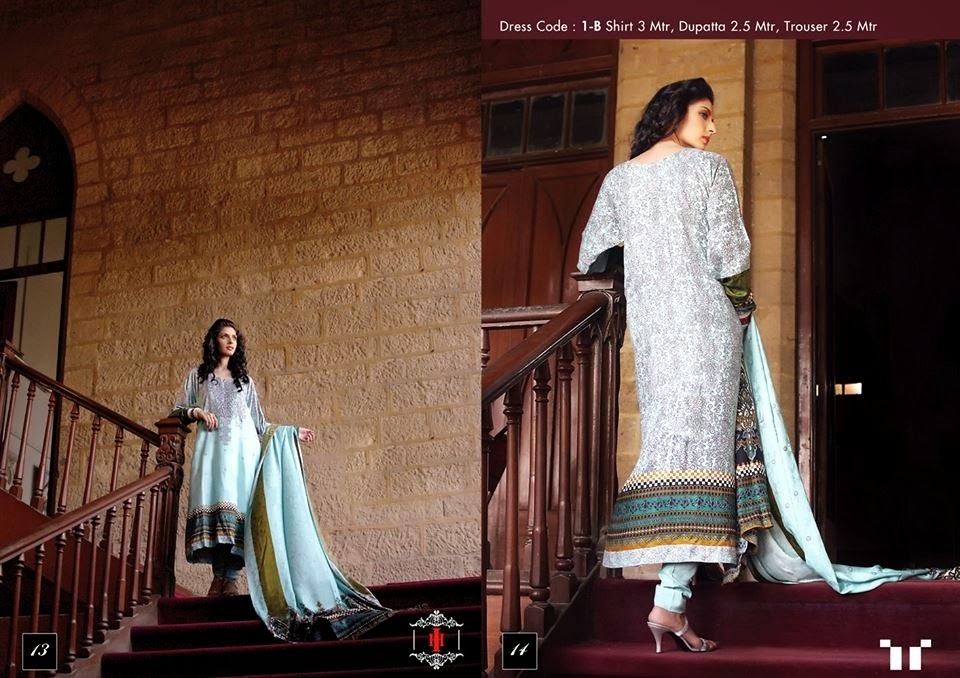 Ittehad Swiss Linen Collection 2014-15 (1)