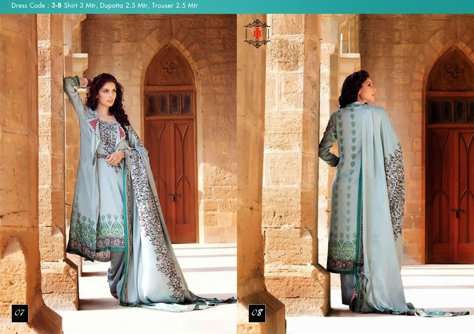 Ittehad Swiss Linen Collection 2014-15 (4)