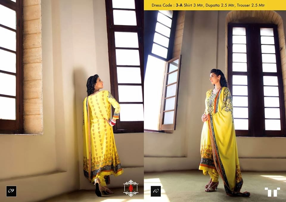 Ittehad Swiss Linen Collection 2014-15 (5)