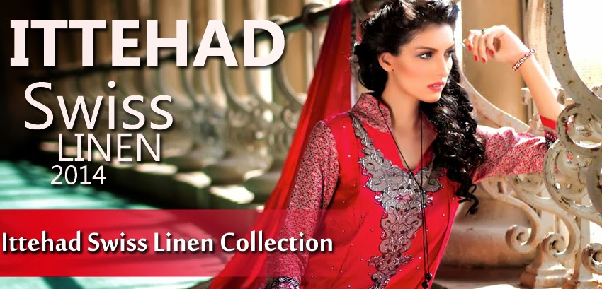 Ittehad Swiss Linen Collection 2014-15 – www.fashionhuntworld.blogspot.com – 0001
