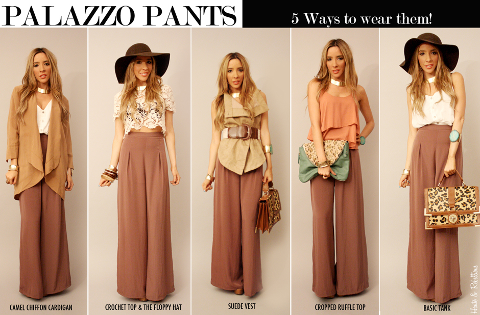 Latest Palazzo Trends For Girls 2014 (1)