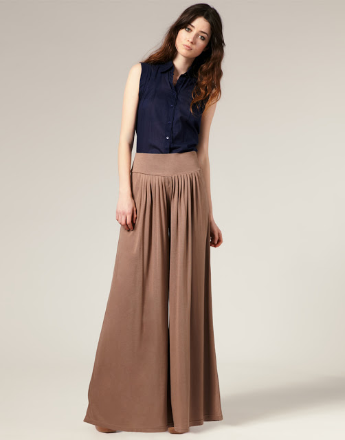 Latest Palazzo Pants and Trousers For Women 2014