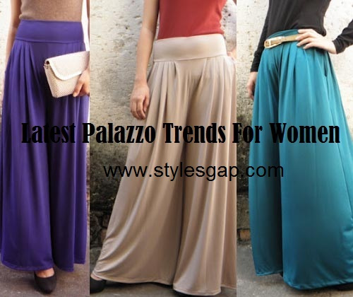Latest Palazzo Trends For Girls 2014 (5)
