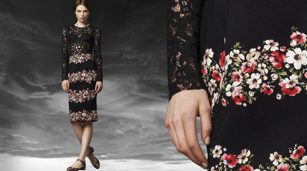 Latest Women Collection 2014 By Dolce and Gabbana (11)