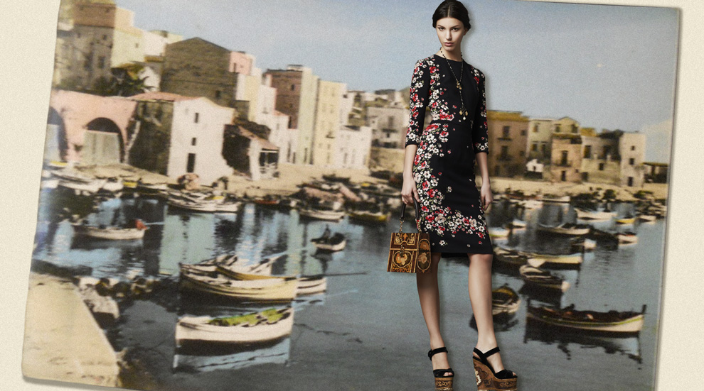 Latest Women Collection 2014 By Dolce and Gabbana (13)