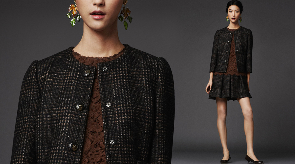Latest Women Collection 2014 By Dolce and Gabbana (17)
