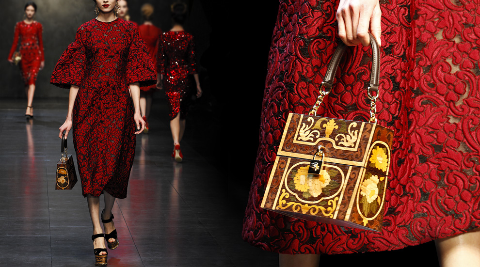 Latest Women Collection 2014 By Dolce and Gabbana (2)