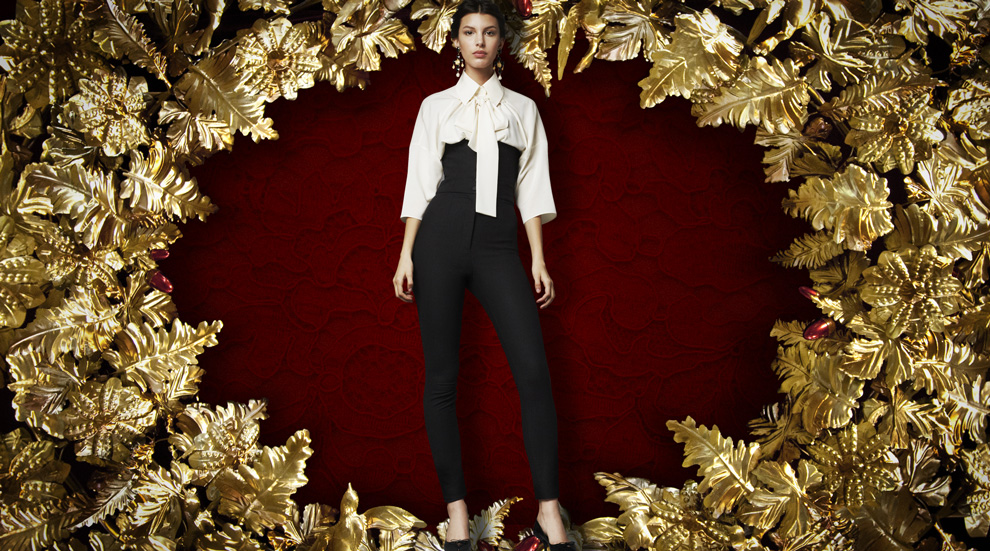 Latest Women Collection 2014 By Dolce and Gabbana (4)