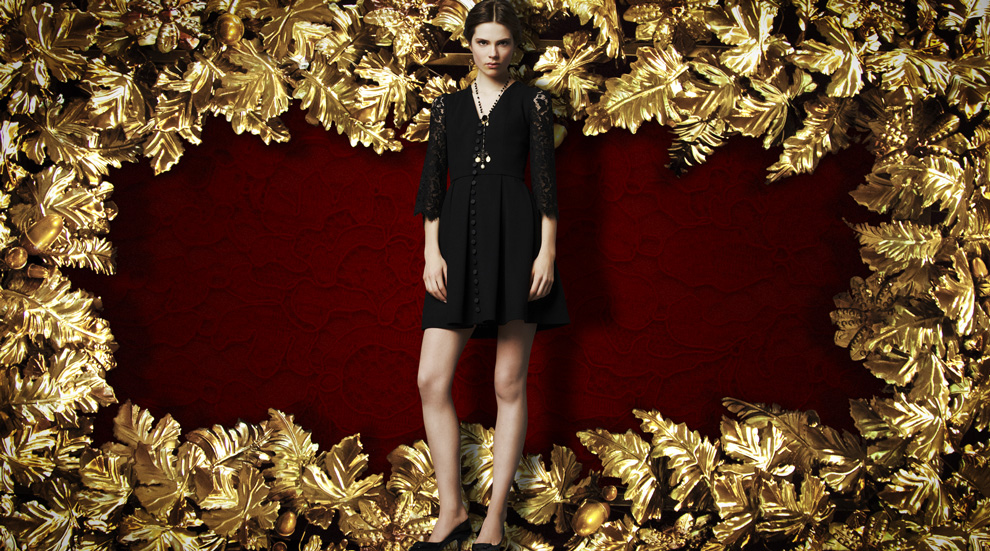 Latest Women Collection 2014 By Dolce and Gabbana (9)